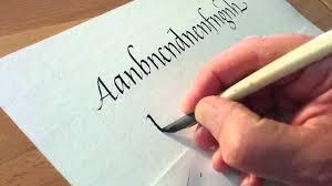 Image result for writing with a quill